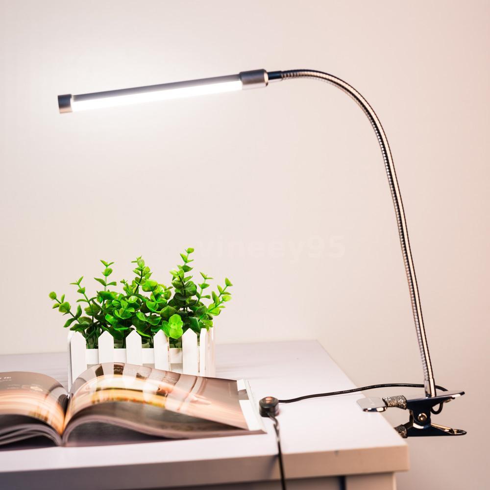 18led Flexible Usb Clamp Table Lamp Reading Study Bed Laptop Desk Light 6w